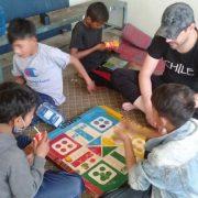 Children busy during lockdown
