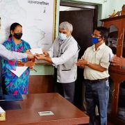 Donation to Covid-19 Emergency Fund of Pokhara Metropolitan City Office
